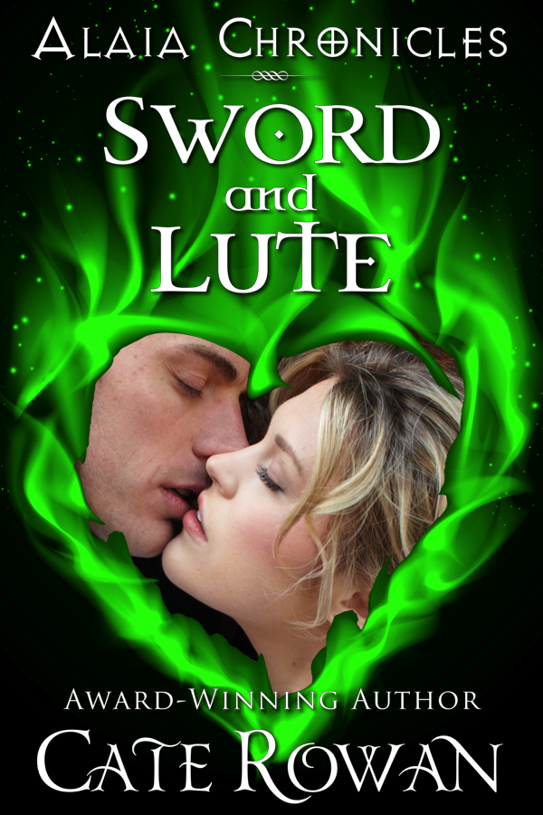 Cover of Sword and Lute: A Fantasy Romance Novelette (Alaia Chronicles)