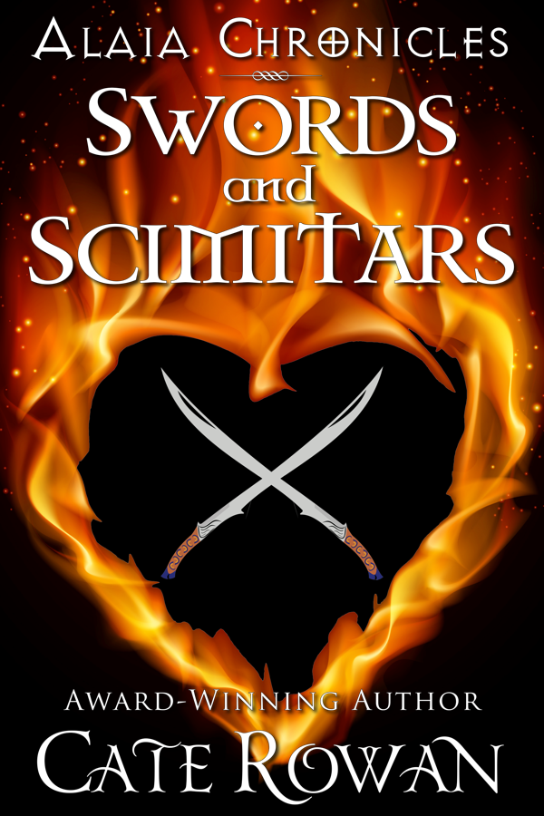 Cover for Swords and Scimitars: A Fantasy Short Story (Alaia Chronicles: Legends, #1)