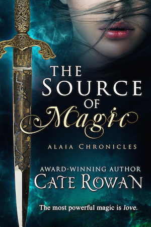 Cover of The Source of Magic by Cate Rowan